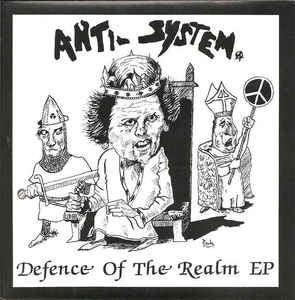 "Anti-System - Defence Of The Realm EP (7"", pink vinyl)"