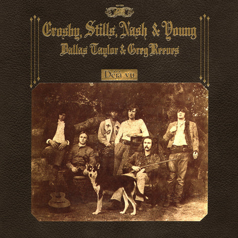Crosby, Stills, Nash & Young - Déjà Vu (LP+4xCD boxset, 50th anniversary edition)
