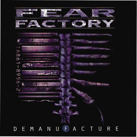 Fear Factory - Demanufacture (3xLP, deluxe edition, transparent blue, white and black vinyl)