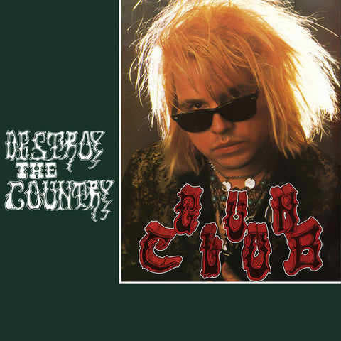 Gun Club - Destroy The Country (LP, green vinyl)
