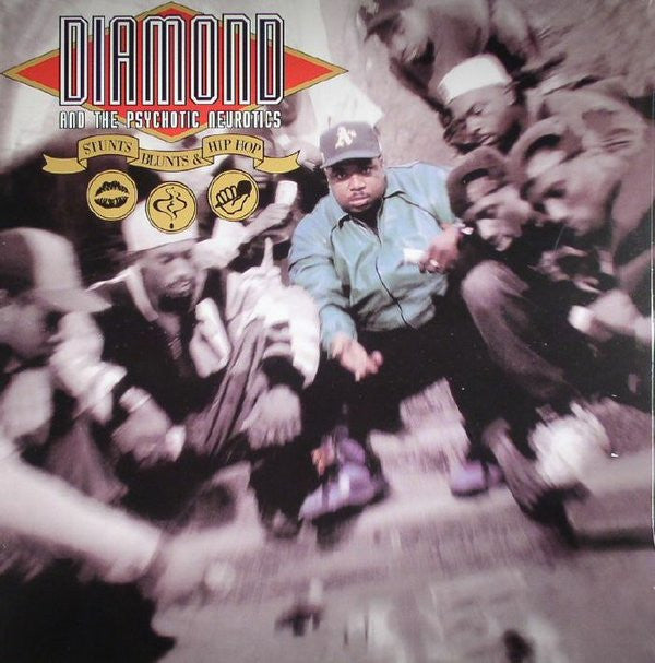 Diamond D & The Psychotic Neurotics - Stunts, Blunts & Hip Hop (2xLP)