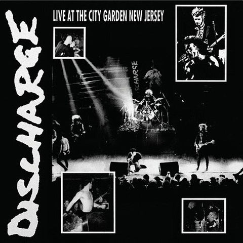 Discharge - Live At The City Garden New Jersey (Clear Vinyl LP)