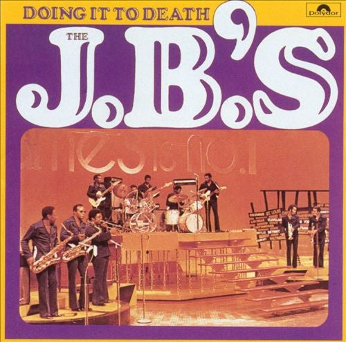 J.B.'s, The - Doing It To Death (LP, Poster)