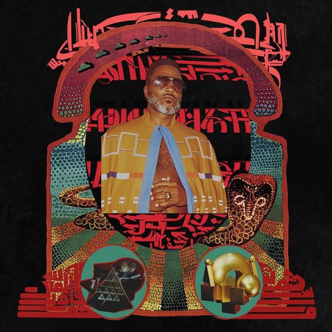 Shabazz Palaces - The Don Of Diamond Dreams (LP, Loser Edition clear vinyl)