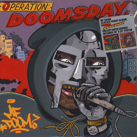 MF Doom - Operation Doomsday (2xLP inc poster, alternative Metal Face cover)