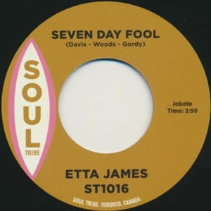 "Etta James / Doug Banks - Seven Day Fool b/w I Just Kept On Dancing (7"")"