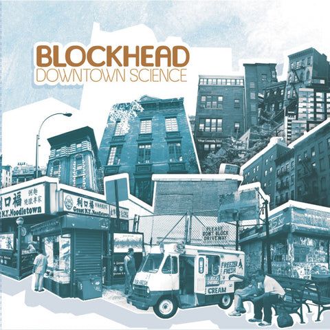 Blockhead - Downtown Science (2xLP)
