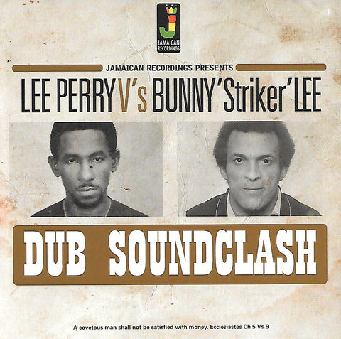 Lee Perry Vs Bunny 'Striker' Lee - Dub Soundclash (LP)