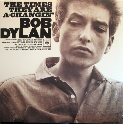 Bob Dylan - The Times They Are A-Changin' (LP, Mono, 180g)