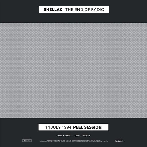 PREORDER - Shellac - The End of Radio (2xLP)