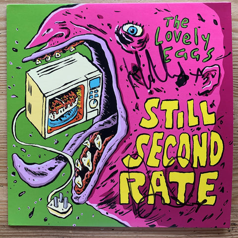 "The Lovely Eggs - Still Second Rate / Jam Wild Jam (7"", Green vinyl)"