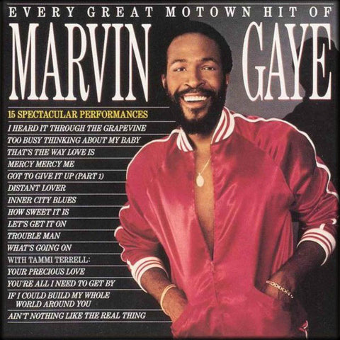 Marvin Gaye - Every Great Motown Hit Of Marvin Gaye (LP)