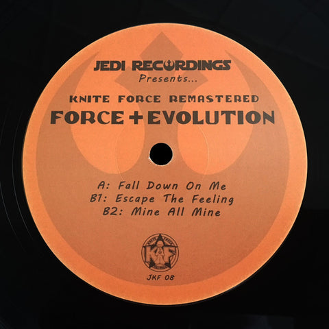 "Force + Evolution - Fall Down On Me (12"")"