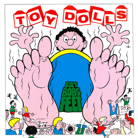 Toy Dolls - Fat Bob's Feet (LP, Pink Vinyl)