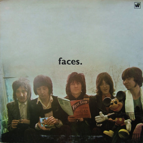 Faces - The First Step LP (orange vinyl)