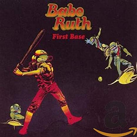 Babe Ruth - First Base (LP, red translucent vinyl)
