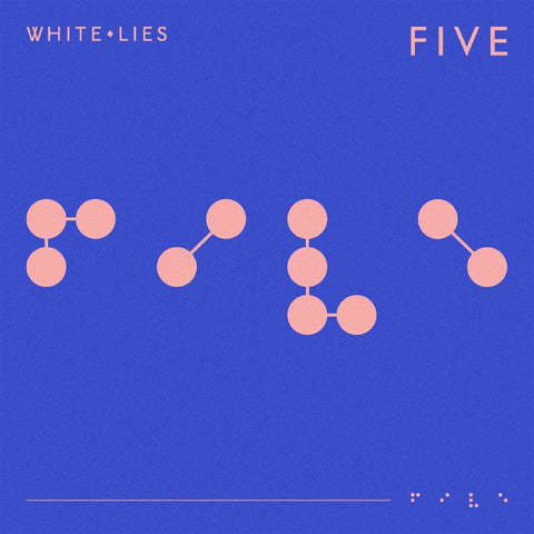 White Lies - Five (LP, blue vinyl inc booklet)