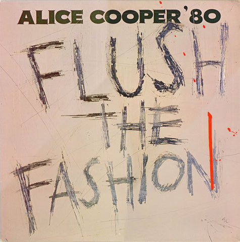 Alice Cooper - Flush The Fashion (LP, Green Swirl vinyl)