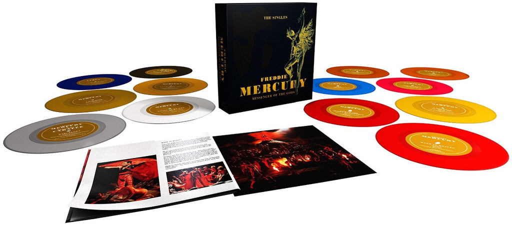 "Freddie Mercury - Messenger Of The Gods (13x7"" Coloured Vinyl Boxset)"