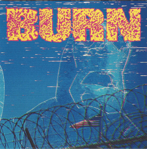 "Burn - ...From The Ashes 7"" (purple with gold splatter vinyl)"