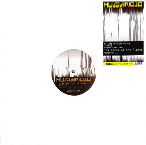 "Humanoid - Future: Turned EP (12"")"