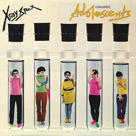 X-Ray Spex - Germfree Adolescents (LP, X-Ray clear vinyl)