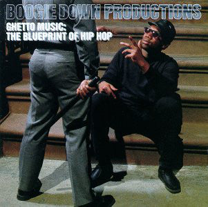 Boogie Down Productions - Ghetto Music: The Blueprint Of Hip Hop LP