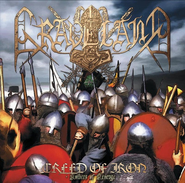 Graveland - Creed Of Iron + Raiders Of Revenge (2xLP)