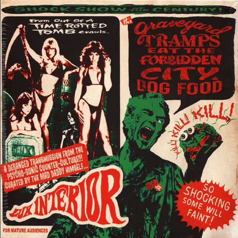 "Various - Graveyard Tramps Eat The Forbidden City Dog Food (2x10"")"