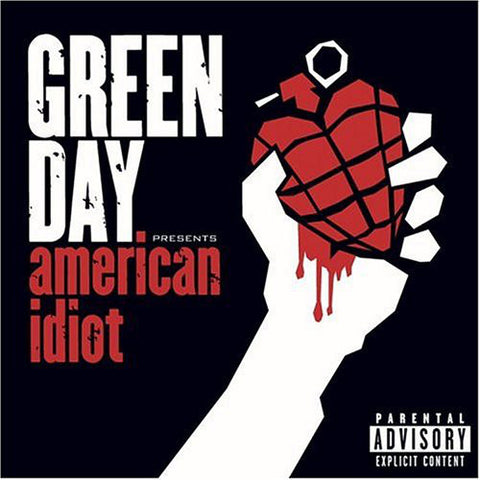 Green Day - American Idiot (2xLP Limited Edition Swirl vinyl)