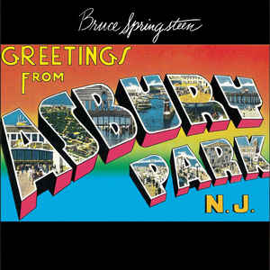 Bruce Springsteen ‎- Greetings From Asbury Park LP (180g)