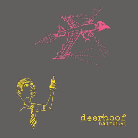 Deerhoof - Halfbird (LP, pink/yellow split vinyl)