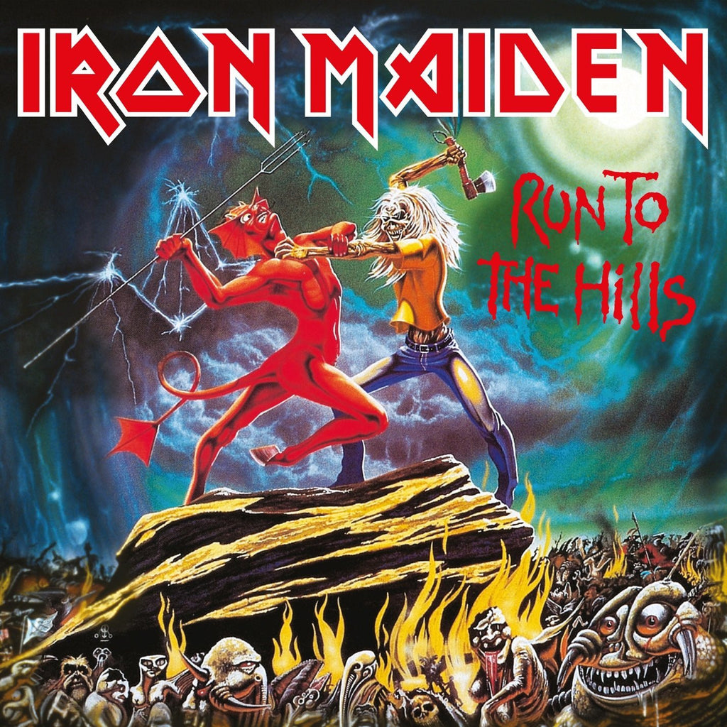 Iron Maiden - Run To The Hills 7""