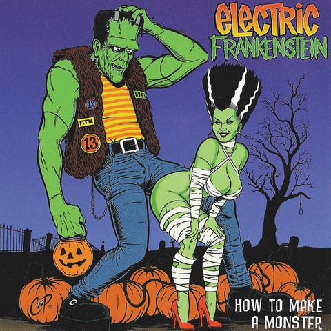 Electric Frankenstein - How To Make A Monster (LP, orange creamsiscle coloured vinyl)