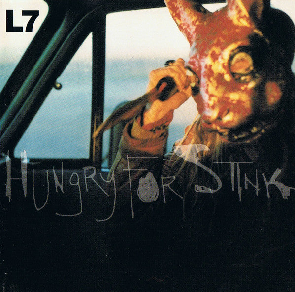 L7 - Hungry For Stink (LP, clear vinyl)