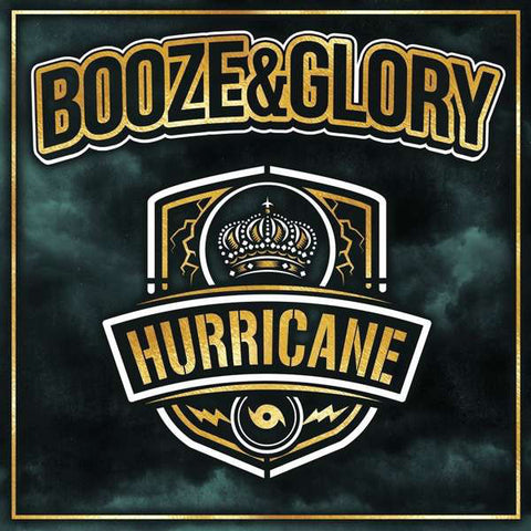 Booze&Glory - Hurricane (LP, green clear vinyl)