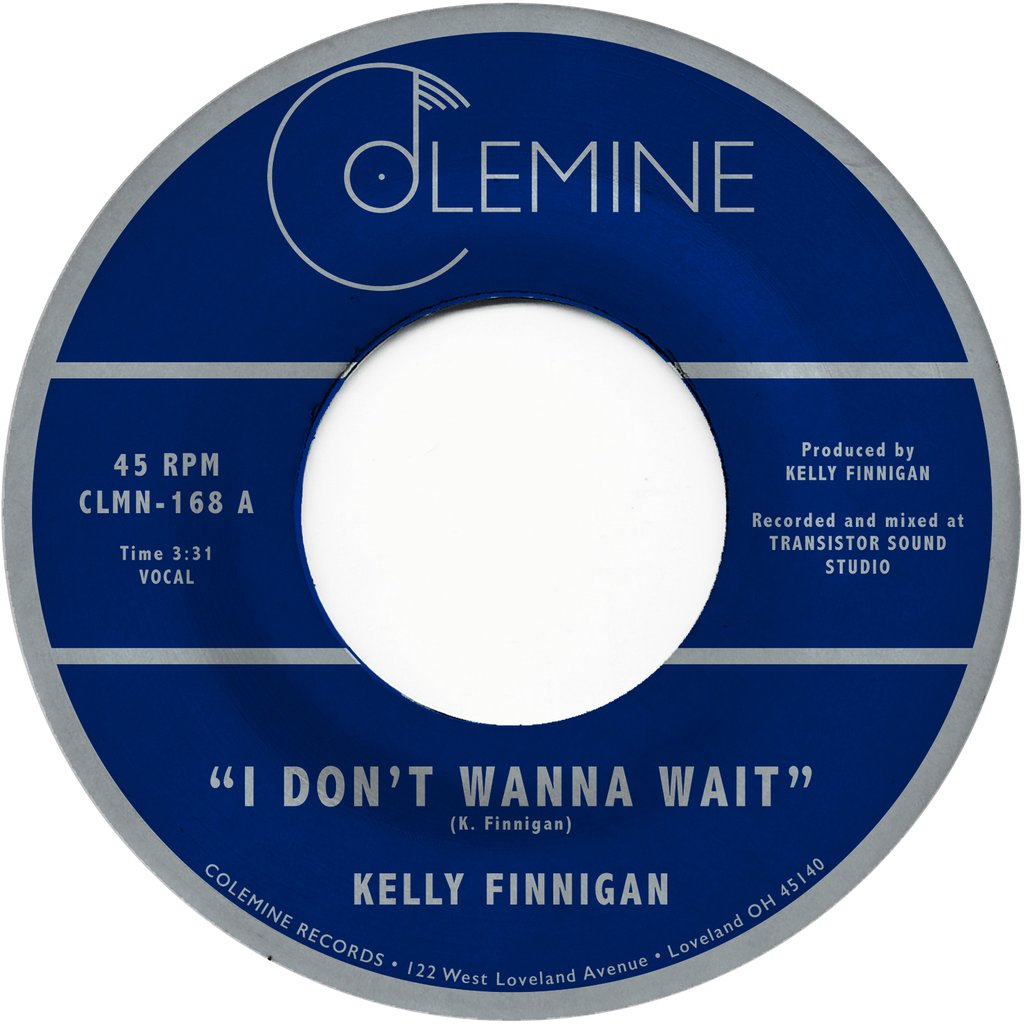 "Kelly Finnigan - I Don't Wanna Wait (7"", red vinyl)"