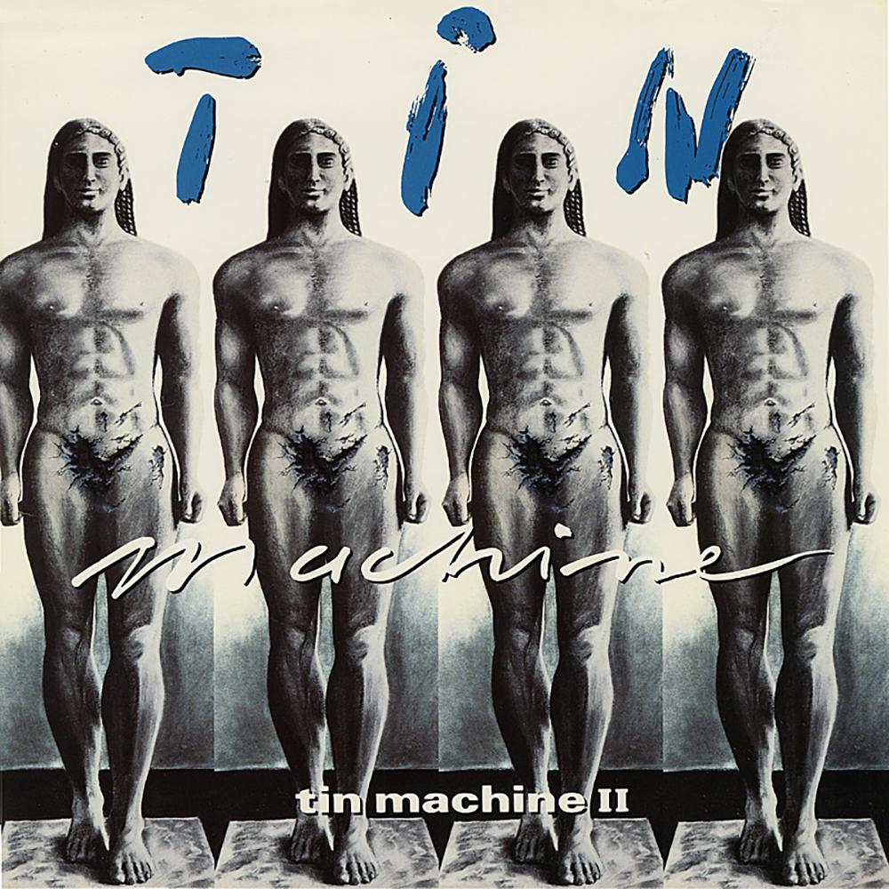 Tin Machine - Tin Machine II (LP, silver vinyl)