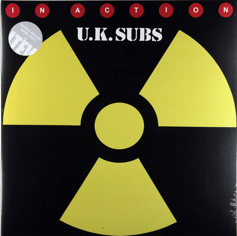 UK Subs - In Action (2xLP, clear vinyl)