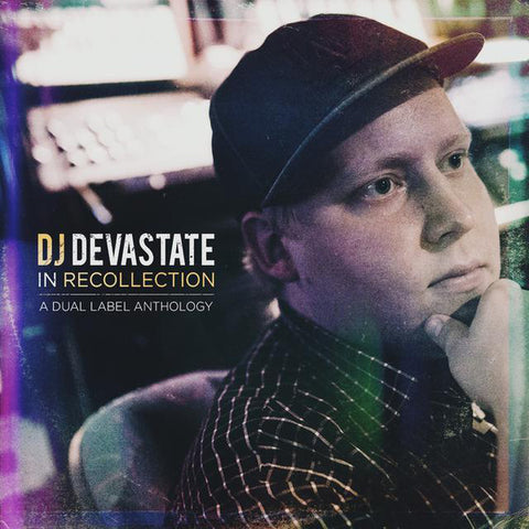 DJ Devastate - In Recollection: A Dual Label Anthology (LP, purple/mustard swirl, RSD exclusive)