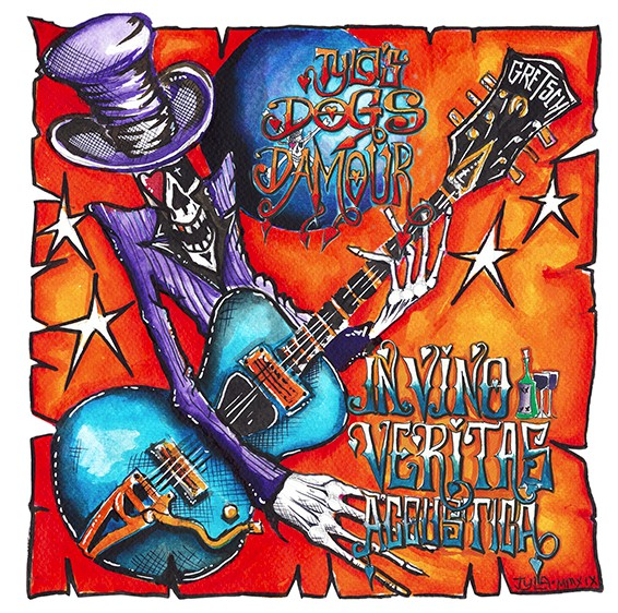 Tyla's Dogs D'Amour - In Vino Veritas Acoustica (LP)
