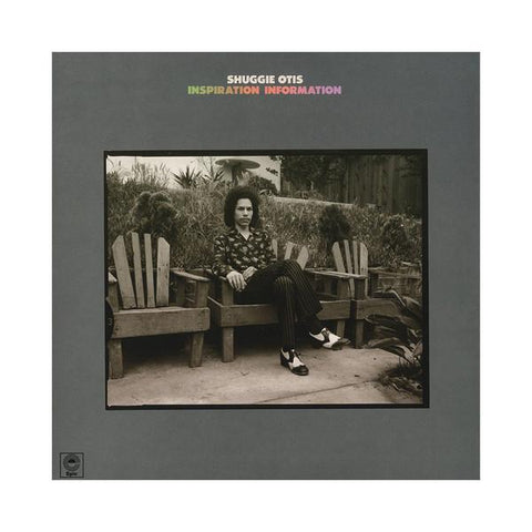 Shuggie Otis - Inspiration Exploration (LP, flaming orange vinyl)