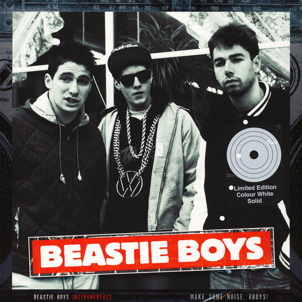 Beastie Boys - Instrumentals: Make Some Noise, BBoys! (2xLP, white vinyl)