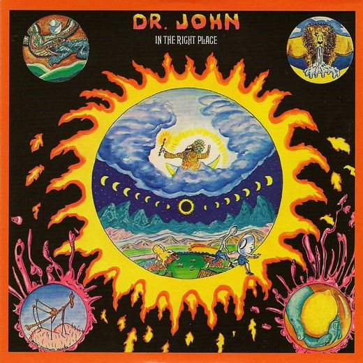 Dr. John - In The Right Place (LP, Mardi Gras splatter vinyl)