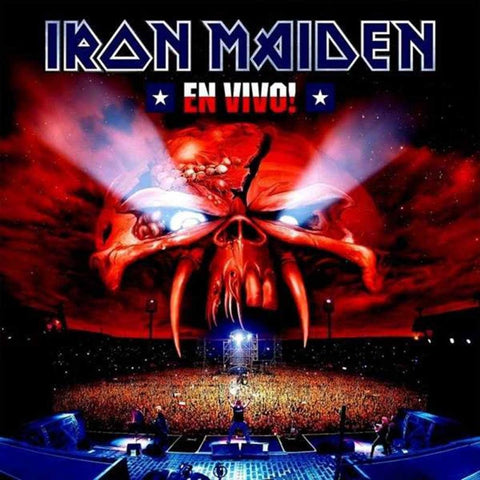 Iron Maiden - En Vivo (2017 2xLP)