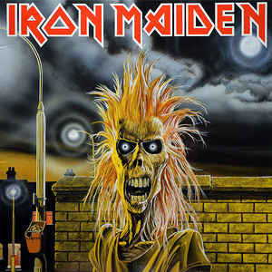 Iron Maiden - Iron Maiden (LP, 2014 reissue)