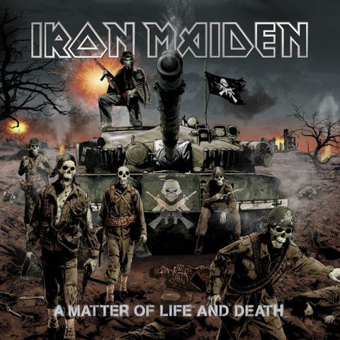Iron Maiden - A Matter Of Life And Death (2xLP)