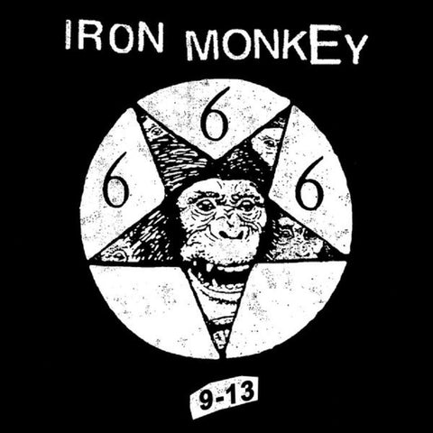 Iron Monkey - 9-13 (Clear w/ Black and White Splatter LP)