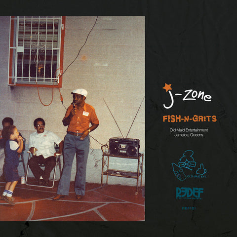 J-Zone - Fish-N-Grits (LP)