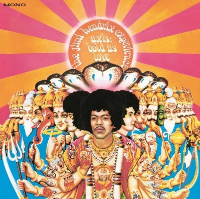 Jimi Hendrix Experience, The - Axis : Bold As Love (mono) (LP)